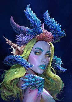 ArtStation is the leading showcase platform for games, film, media & entertainment artists. Dungeons And Dragons Characters, Dnd Characters, Fantasy Characters, Character Portraits, Character Art, Character Design, Fantasy Girl, Dark Fantasy, Fantasy Inspiration