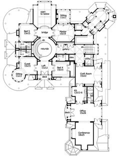 find this pin and more on floor plans for mansions and estate homes - Luxury Floor Plans