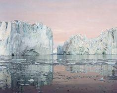 Olaf Otto Becker - Ilulissat Icefjord 9 -  69°11`50``N, 51°12`54`` W, 07/2003