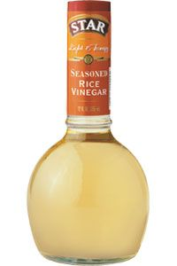 Seasoned rice vinegar, with a smooth, zesty taste, is perfect for adding flavor to salads, rice dishes and chicken. No cholesterol or fat, and low in sodium. $3.49 Vegetable Storage, Fish And Chicken, Cooking Sauces, Rice Vinegar, Chicken Seasoning, Rice Dishes, Hot Sauce Bottles, Cholesterol, Healthy Eating