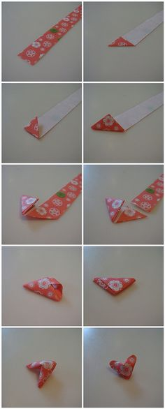 Puffy Heart Tutorial | When you have the triangle at the end… | Flickr