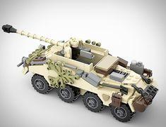 Lego Ww2 Tanks, Lego Soldiers, Lego Machines, Lego Guns, Nerf Toys, Lego Boards, Amazing Lego Creations, Lego Mecha, Lego War