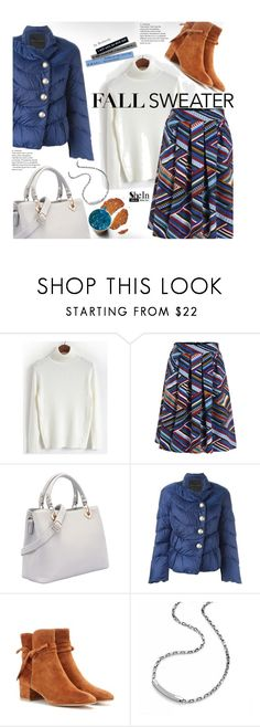 """""""Street Style - Fall Sweater"""" by beebeely-look ❤ liked on Polyvore featuring Ermanno Scervino, Gianvito Rossi, Kenny & Co., Sweater, Sheinside, StreetSyle, fallstyle and shein"""