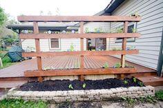 A DIY Freestanding Vertical Garden — A Kate Offering