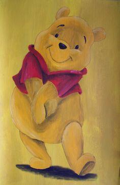 Winnie The Pooh by Billy Wallwork