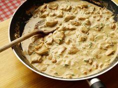 Poulet à la crème, moutarde et vin blanc « Cookismo | Recettes saines et faciles