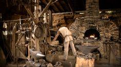 Blacksmith of Guedelon Photo: Olivier Nichelson
