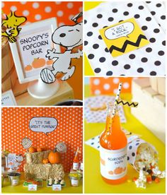 It's The Great Pumpkin Charlie Brown Halloween Party (karaspartyideas.com)