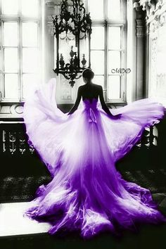 So beautiful! all that's needed is a Purple veil Wow!!!