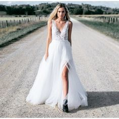 Dream dress! I should probably get engaged first though.. Ha. 'Willow' by Made With Love Bridal.