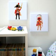 Décoration murale chambre enfants Pirate et Indien le poster trop chouette !!