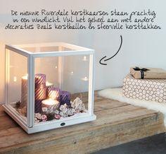Gaaf idee om iets in een lantaarn te maken!