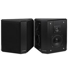 Fluance AVBP2 Home Theater Bipolar Surround Sound Satellite Speakers #tech
