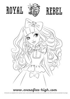 Blondie Lockes Coloring Page