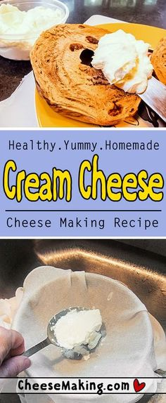 Make your own Cream Cheese at home with this easy to follow recipe filled with step by step photos. Cheesemaking.com