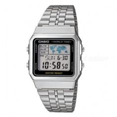 f966d8902f38 Casio A500WA-1DF Classic Digital Watch - Silver + Black (Without Box)
