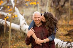 A gorgeous fall engagement session in Lamoille, NV captured by Kate Brown Photography