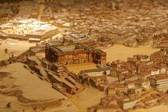 Imágenes de la maqueta que el ingeniero militar León Gil de Palacio realizó en 1830 de la capital española