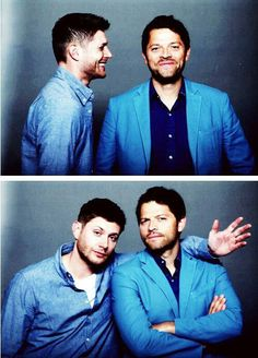 Jensen and Misha @Abby Knight