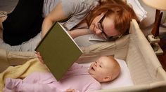 Leitura para bebês é edificante do simbólico.