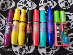 Maybelline  These mascaras are all good... Which one is your favourite let me know in the comments