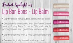 Younique party product spotlight - Bonbons