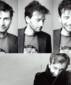 david tennent - geeky, manic and a little bit gorgeous.