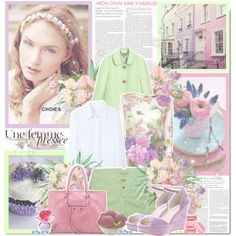 green and pink, make spring and your life colorful and lovely :)