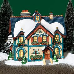"""Department 56: Products - """"Alpine Academy Of Music"""" - View Lighted Buildings"""