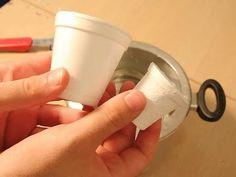 Como fazer um copo encolher (experiência)