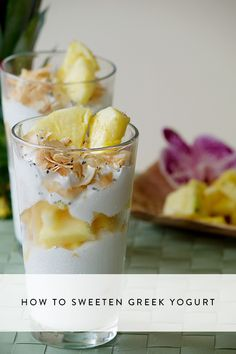 Here are 5 clever ways to sweeten Greek yogurt. Check them out!