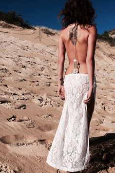 Lace Maxi Skirt   The Naked Tiger