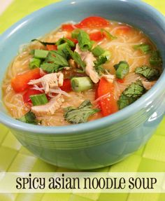 """Spicy Asian Noodle Soup. """"Incredibly Easy and very adaptable based on your likes. It was ready in less than 30 minutes.'"""