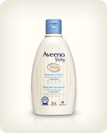 AVEENO® BABY® Eczema Care Moisturizing Cream   #bigbabybasketsweeps