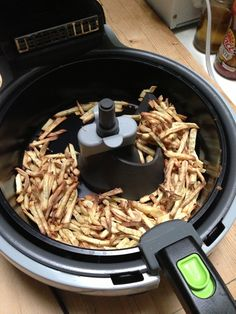 I put this countertop convection cooker through its paces, and made some delicious roasted cauliflower in the process. T Fal Air Fryer, Tefal Actifry, Actifry Recipes, Roasted Cauliflower, Product Review, Air Fryer Recipes, French Fries, Countertop, Sweet Potato