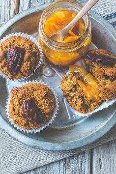 Millet and Date Muffins