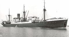 7 maart 1942  Het passagiersschip 'Poelau Bras' (1929)   http://koopvaardij.blogspot.nl/2015/03/7-maart-1942.html