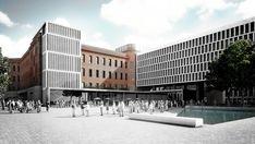 Galería de Primer Lugar en Concurso anteproyecto del centro cultural, comercial y residencial Paseo De Güemes - 5
