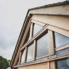 glazing for an oak frame