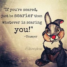 That's actually great advice thumper.