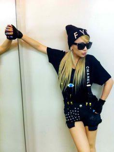 2ne1 CL -- the leader