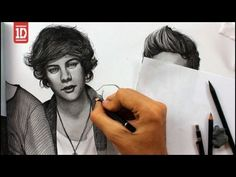 One Direction Drawing By Juan Andres... OKAY BUDDIE NAME YOUR PRICE I WANT IT