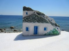 Original Rock Art Handpainted Stones OOAK Painted Rocks Stone Home Decor Pebble…