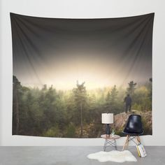 Im happily lost yet again Wall Tapestry by HappyMelvin | Society6
