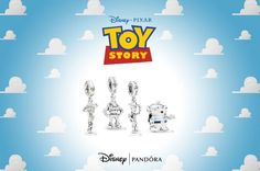 Exciting news Toy Story loving Disney Fashionistas! There is a new Toy Story Pandora Collection debuting as part of Pandora's summer launch! Pandora Charms Disney, Pandora Bracelet Charms, Disney Toys, Disney Pixar, New Americana, New Toy Story, Pandora Collection, Bestie Gifts, Adventures By Disney