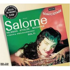 Oh, Salome.  Such a temptress!  I can't resist your multiple hair styles.  Or your mini-pastry rings.  I wonder what Solti means in Austrian.