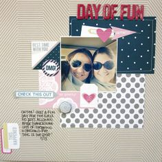 day of fun {chic tags} by Peally Scrappy @kari alissa Peas in a Bucket