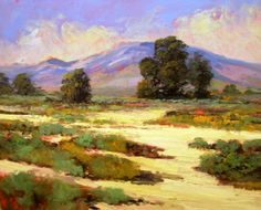 Purchase artwork Near Swellendam - Oil Painting by South African Artist Louis Audie