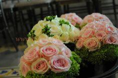 Bride and bridesmaids' Bouquet