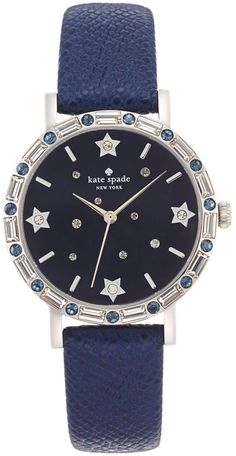 KATE SPADE NEW YORK Ladies Glitz Metro Stainless Steel Watch